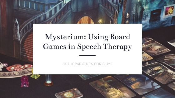 Mysterium | Using Board Games in Speech Therapy